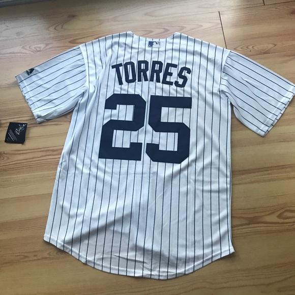 the latest 7b3dc af39b New York Yankees #25 Gleyber Torres New Jersey NWT
